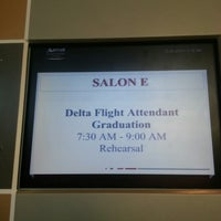 Photo taken at Atlanta Airport Marriott Gateway by Claire on 10/26/2012