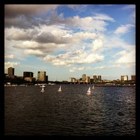 Photo taken at Charles River by Steve M. on 7/4/2013