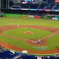 Photo taken at Marlins Park by Michael d. on 4/12/2013