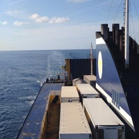 Photo taken at Nave Partenope - TTT Lines by watary on 5/2/2014
