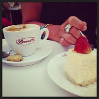 Photo taken at Brunetti Caffe مقهى برونيتي by Derek C. on 6/6/2013