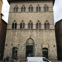 Photo taken at Piazza Tolomei by Elias R. on 3/3/2017
