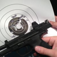 Photo taken at West Coast Armory Indoor Range by Anthony on 6/1/2013