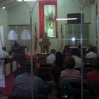 Photo taken at Iglesia Bautista Fundamental Hispana by Cesar R. on 9/22/2012