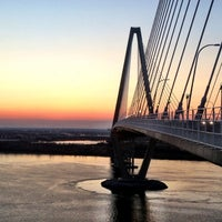Photo taken at Arthur Ravenel Jr. Bridge by Crystal B. on 3/15/2013