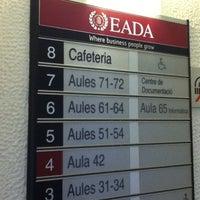 Photo taken at EADA by Tavo P. on 10/9/2012