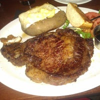 Photo taken at Town Pump Steakhouse by Steve P. on 9/1/2013