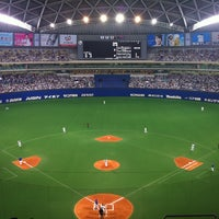 Photo taken at Nagoya Dome by Kamome Y. on 5/7/2013