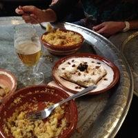 Photo taken at Al-Jaima, Cocina del Desierto by Sergio C. on 12/8/2012