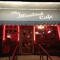 Photo taken at The Bluebird Cafe by Stacia on 6/23/2013