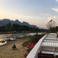 Photo taken at Thavonsouk Resort and Hotel Vientiane by manasoid on 4/18/2017