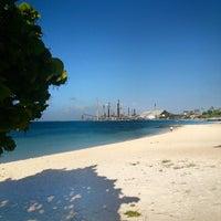 Photo taken at Rodger's Beach by Андрей Б. on 1/6/2014
