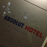 Photo taken at Absolut hotel by Елена О. on 3/6/2013