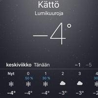 Photo taken at Kättö by Viivi R. on 12/23/2015