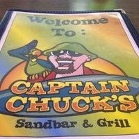 Photo taken at Captain Chuck's Sandbar & Grill by Lisa F. on 1/24/2013