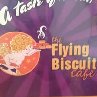 Photo taken at The Flying Biscuit Cafe by Amanda S. on 4/26/2012