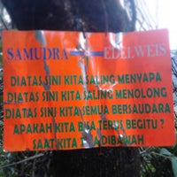 Photo taken at Gunung Gede by Teodorus F. on 7/27/2013