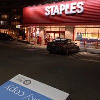 Photo taken at Staples Capilano by Tristan J. on 9/19/2013