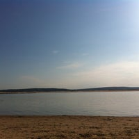 Photo taken at Пляж Волги by Rezeda I. on 8/23/2013