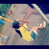Photo taken at Taman Sea Playground by Junie K. on 11/1/2012