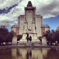 Photo taken at Madrid by Olga L. on 5/29/2013