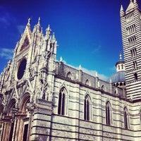 Photo taken at Duomo di Siena by Olga L. on 1/25/2013