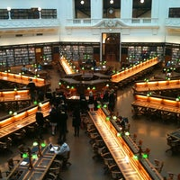 Photo taken at State Library of Victoria by Anne C. on 10/11/2012