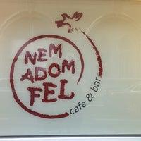 Photo taken at Nem adom fel Cafe & Bar by Miklos G. on 1/27/2016