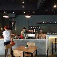 Photo taken at Elixir Espresso by Vincent T. on 8/31/2014