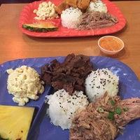 Photo taken at Mokis Hawaiian Gril by Matt P. on 12/4/2015