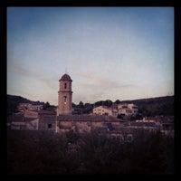 Photo taken at La Torre de Fontaubella by Sergi J. on 10/17/2012
