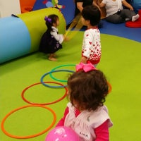 Photo taken at Gymboree Play & Music Gym by Seyma O. on 2/28/2015