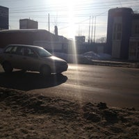 Photo taken at Автобус 50 by Lena D. on 2/9/2013