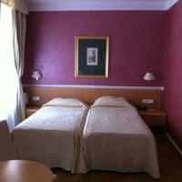 Photo taken at Hotel Roma Prague by Olga🎀 S. on 10/1/2012