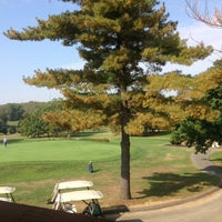 Photo taken at Eisenhower Golf Course by Beth on 10/4/2013
