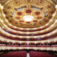 11/23/2012 tarihinde Jaumeziyaretçi tarafından Liceu Opera Barcelona'de çekilen fotoğraf