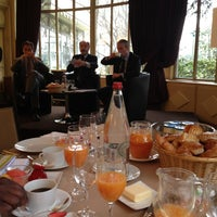 Photo taken at Pavillon Ledoyen by Jean-Charles B. on 3/28/2013