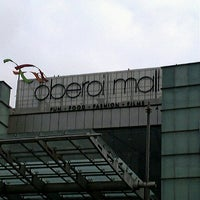 Photo taken at Oberoi Mall by sandesh v. on 9/21/2012