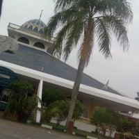 Photo taken at Masjid Qariah Teluk Kemang by Amblee Z. on 2/9/2016