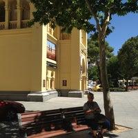Photo taken at Plaza De Toros Albacete by Alfons on 8/9/2013