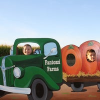 Photo taken at Fantozzi Farms Corn Maze and Pumpkin Patch by Fantozzi Farms Corn Maze and Pumpkin Patch on 7/27/2013