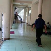 Photo taken at Masjid Al Amin Kemenkeu by Mujiastono M. on 10/31/2012