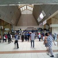 Photo taken at Stasiun Tanah Abang by Mujiastono M. on 4/9/2013