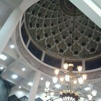 Photo taken at Masjid Al Amin Kemenkeu by Mujiastono M. on 10/10/2012
