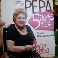 Photo taken at Casa Pepa by David G. on 5/29/2014