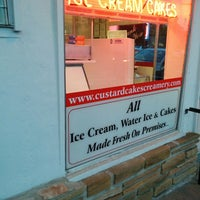 Photo taken at Custard & Cakes Creamery by Nate R. on 5/25/2014