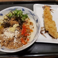 Photo taken at Marugame Udon by Bertha S. on 11/16/2017
