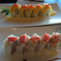 Photo taken at Sushi Wabi by Amra K. on 1/10/2013
