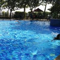 Photo taken at Swimming pool - Mercure Hotel by Devita J. on 6/26/2017