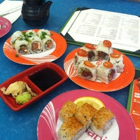 Photo taken at Wasabi Modern Japanese Cuisine by Peggy E. on 7/30/2013